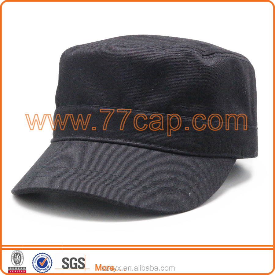 2016 Brand New Cotton Classic Army Plain Vintage Hat Cadet Military Baseball Cap