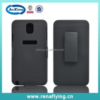 New arrival mobile case belt clip cover for Samsung Galaxy Note 3