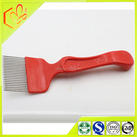 export high quality stainless steel uncapping fork needle form uncapping fork for honey and beeswax