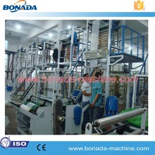 Good capacity plastic shopping plastic bag pe film extrusion blow molding machine