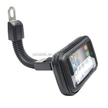 Motorcycle Bicycle Water-repellent Phone Bag Case With Handlebar Holder durable for universal phone and other accessory