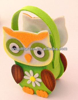 hot new products for Christmas Decoration Owl for Sale cute design handmade owl bag made in china