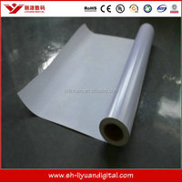 Indoor/Outdoor Eco-solvent Printing Material, Rigid PVC Film for Roll-up Stand