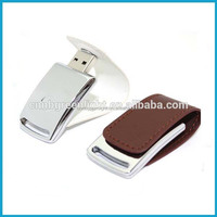 4G Lether Novelty USB With Customized