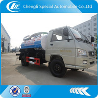Foton mini fecal suction truck,vacuum pump for septic tank truck