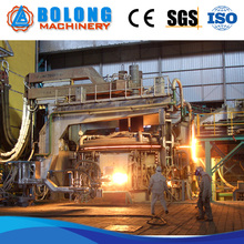 High precision electric power consumption electric arc furnace steel production