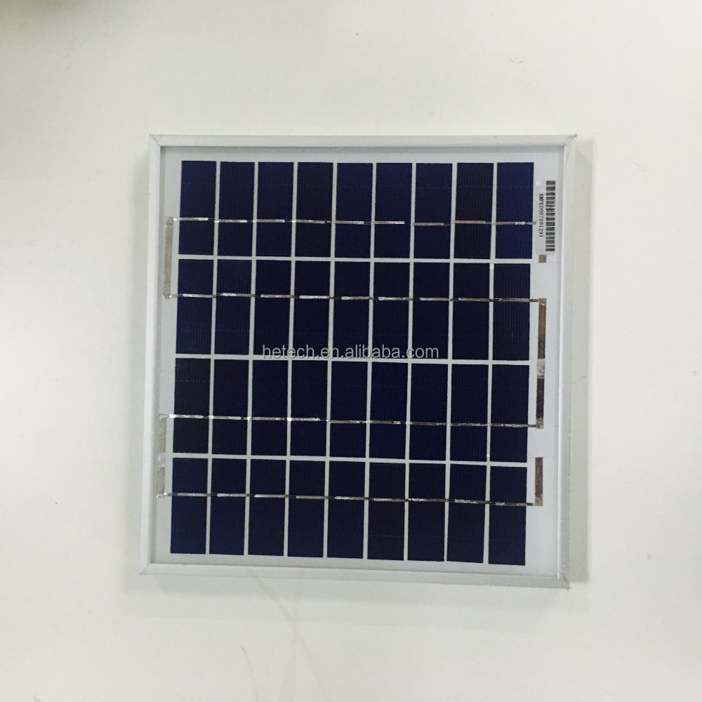 Good quality per watt 5w Mini polycrystalline solar panel price in india
