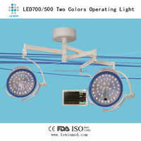 LED shadowless operating lamps, video camera system available! LED700/500
