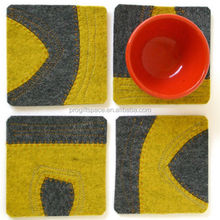 worldwide wanted 2017 hot sale high quality felt new products promotional items for glass table pad made in China