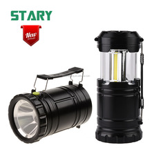 STARY new arrival 3w 350 lumen cob camping light portable nebo lantern with 1w 80 lumen led spotlight