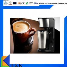 Hot sell home use mini single cup coffee maker/coffee maker machine