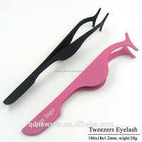 Eyelash Extension Tweezers /False Eyelash Applicator Clip Makeup Tweezers