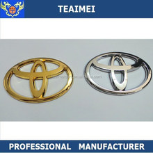 ABS Chrome Auto Car Logo Steering Wheel Emblem For Sticker