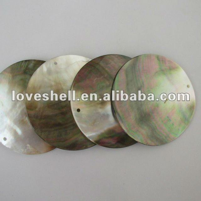 black mother of pearl shell blanks for jewelry