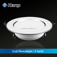 3W 3 Inch Home White Dimmable SMD 2835 LED Ceiling Downlight
