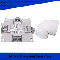 pipe fitting mold,PP collapsible pipe fitting mold Plastic Injection PPR PVC PE Pipe Fitting mould
