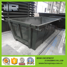 4m waste scrap metal skip bin for sale