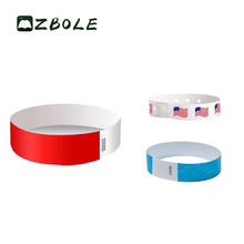 Nice New Design Waterproof Printable Tyvek Wristbands