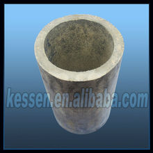 High quality Magnesite crucibles/magnesite cupels for gold assaying