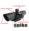 /product-detail/spike-tactical-scope-2-5-10x40-with-red-laser-sight-for-hunting-dual-illuminatedriflescope-60308840687.html