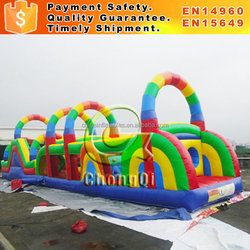 Giant inflatable obstacle course inflatable floating obstacle for sale inflatable obstacle