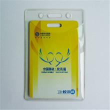 Wholesale factory direct custom transparent clear soft pvc card holder
