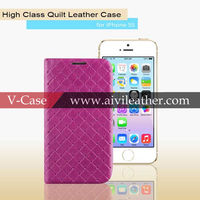 2013 New Accessories For Apple iPhone5/5s, Popular Leather Case For iPhone5/5s