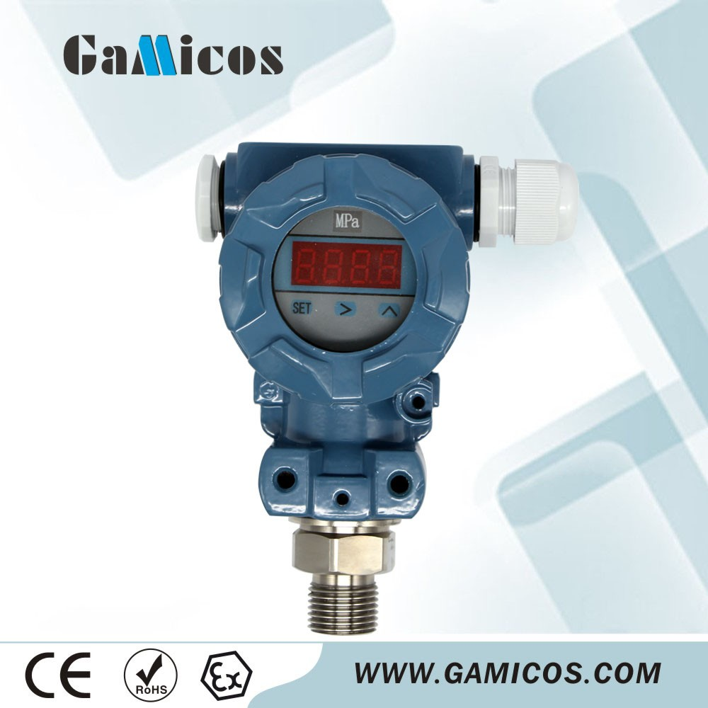 GPT240 lcd Display Intelligent Pressure Transmitter With Hart