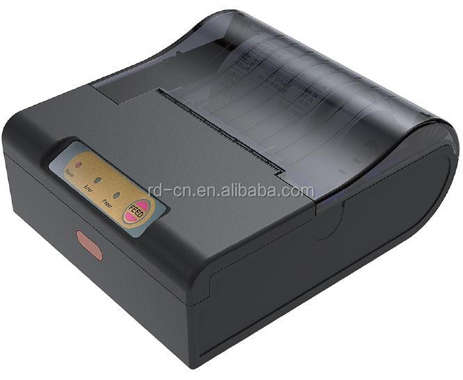 Rongda dot matrix portable printer receipt printer in POS system micro printer serial port 485 usb interface