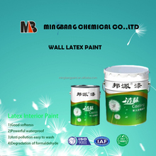 Hot sales washable white interior wall latex paint