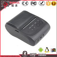 5802PD 58mm paper width andriod IOS mobile / pc / computer mini bluetooth thermal receipt printer with driver