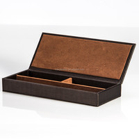 world popular high quality cowhide leather wine travel case