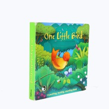 Superior Quality Printed Die-cutting Kids' Full Color Hardcover Puzzle Book Printing