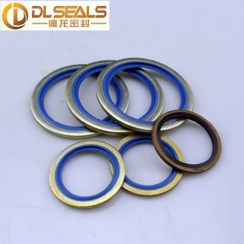 Hot selling bonded seal, brass flat washer,copper washer