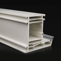 plastic pvc profiles upvc extrusion profiles of china manufacturer for windows