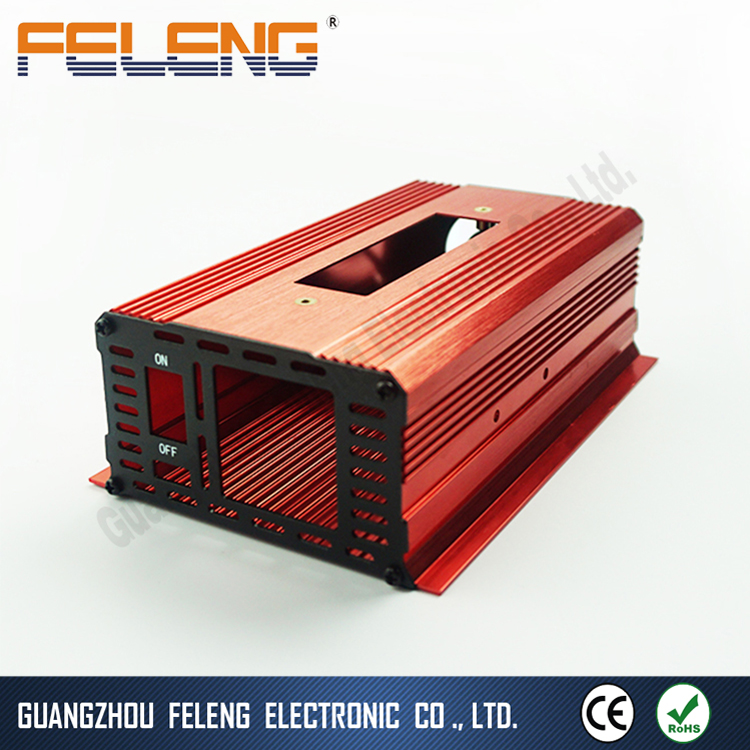 6063 T5 aluminum extrusion enclosure ip67 housing for pcb junction box