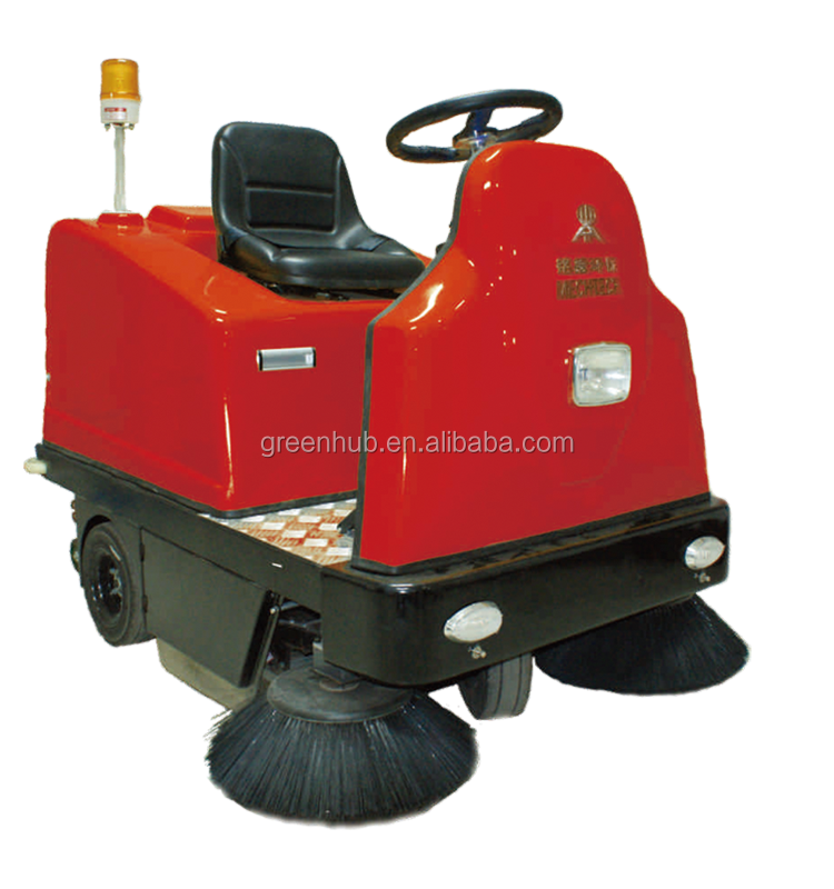 Electrical Smart Cordless Ride-on Sweeper