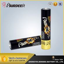 Quality Guaranteed lr03 size aaa am4 1.5v alkaline Pairdeer Battery
