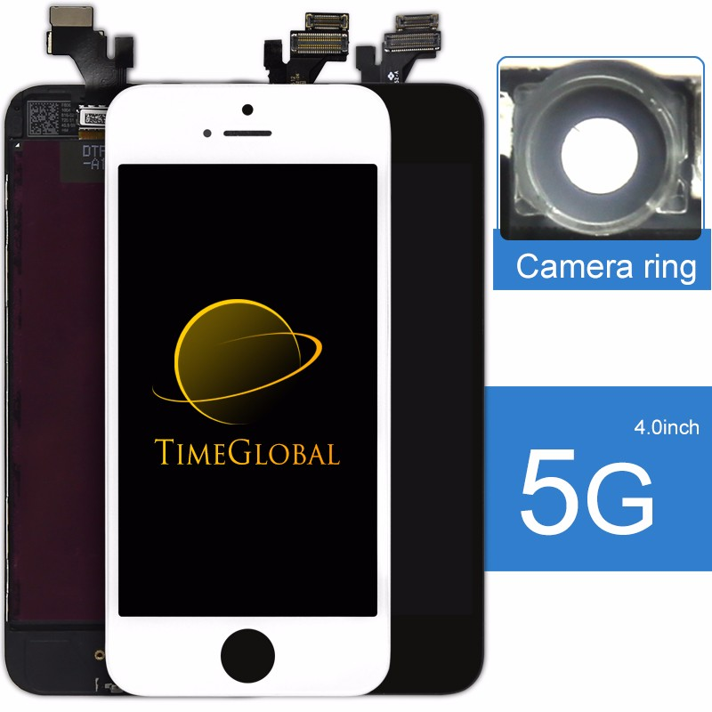 2017 Factory directly selling clear lcd for iphone 5 lcd screen complete Tianma AAA+ quality