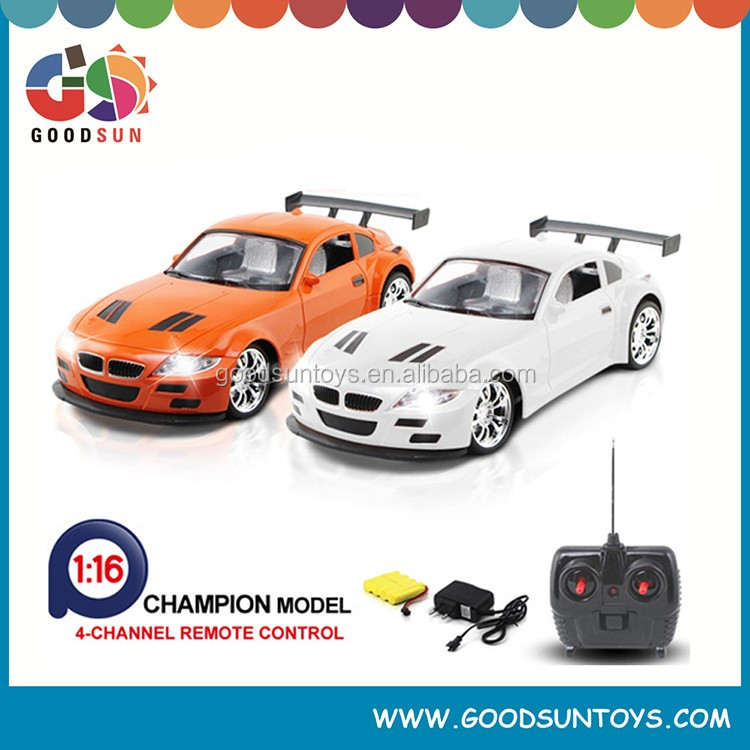 1/16 radio control car 4-Channel Remote Control Car high speed up car toys with light and Rechargeable Battery