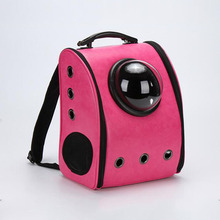 Cheap price easy to carry pet dog cat bag capsule pet backpack wholesale backpack pet carrier
