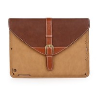 Newest design mutil-function removable PU flip tablet case for iPad mini