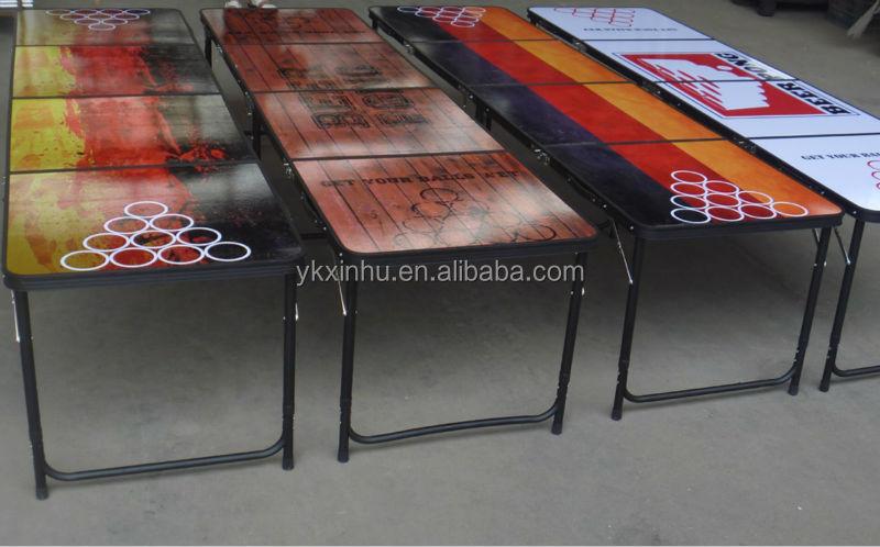 Table de jeu beer pong table pliante id de produit - Fabriquer une table de beer pong ...