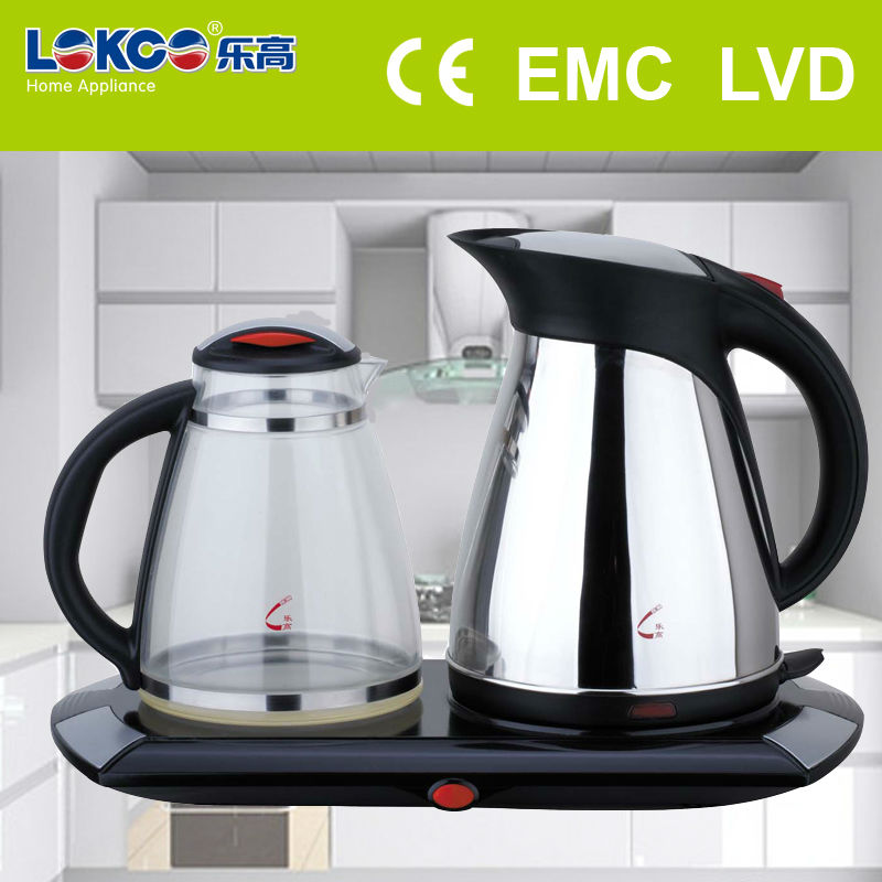 NEW STYLE Stainless Steel turkish tea kettle set 2.0L