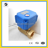 CWX-15N, DC12V ,2-Way DN15 Electric Motor Valve with position indicator for auto control Irrigation equipment