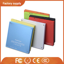 Factory price OEM solar power pack portable power pack 12000 Mah