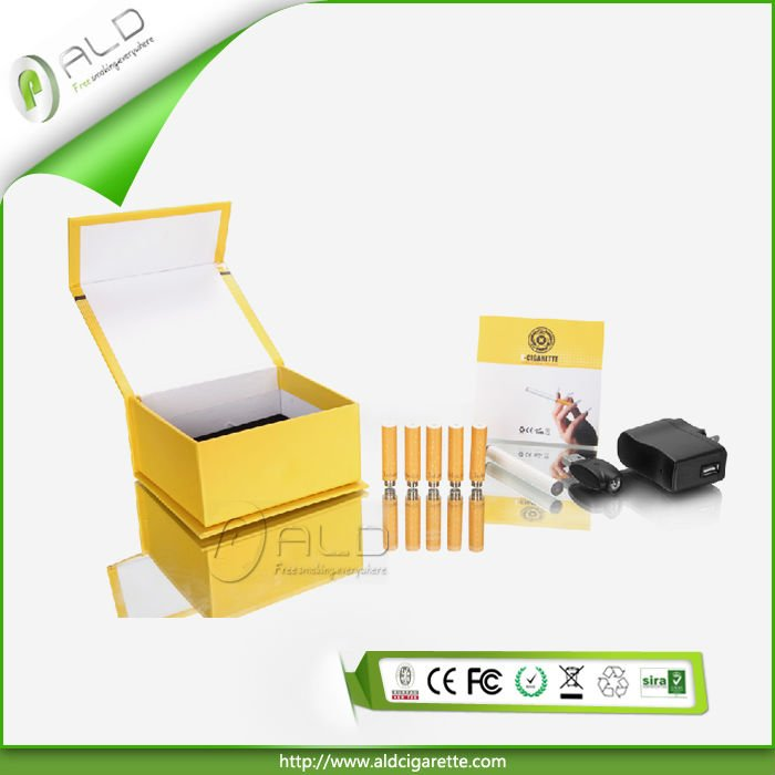 Factory price and high quality double 350 puffs rechargeable lightweight electric cigarette in mystic gift box for Christmas