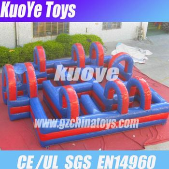 cheap obstacle kids inflatable obstacle
