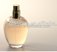 100ml classic square round perfume glass spray bottle China factory price