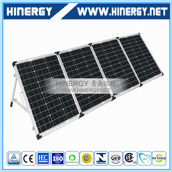 High grade mono foldable solar panel 200w 80W 120W 160Wp 200 Watt 12V 200w mono portable solar panel